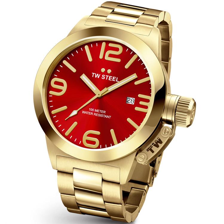 TW Steel CB112 Canteen Bracelet XL Horloge 50mm