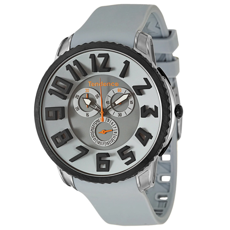 Tendence Gulliver Slim Chrono Uhr Grey 10ATM XL