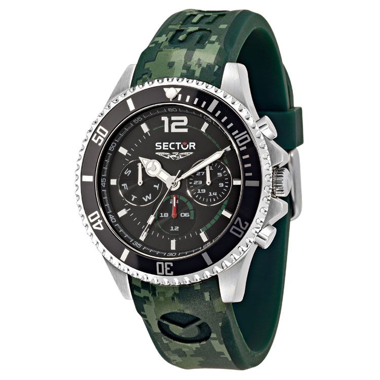 Sector 230 Multi Function Horloge 43mm