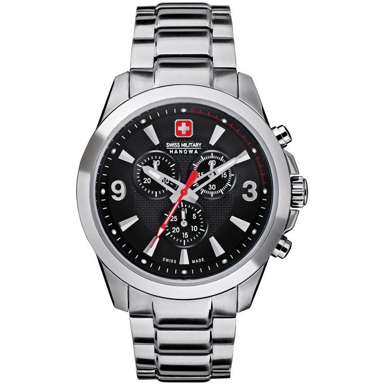 Swiss Military Hanowa Predator Heren Horloge 43 mm