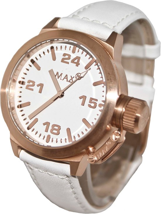 Max Watches Horloge Rose RVS 42mm