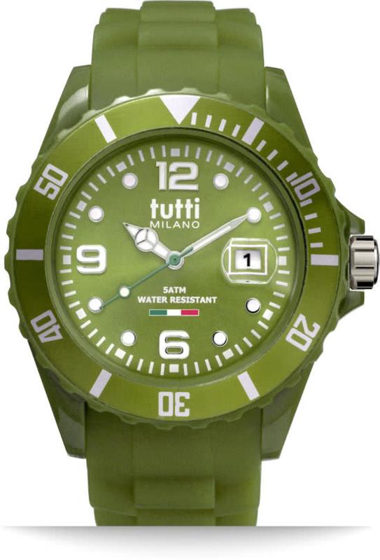 Tutti Milano Pigmento Horloge Groen 42,5mm