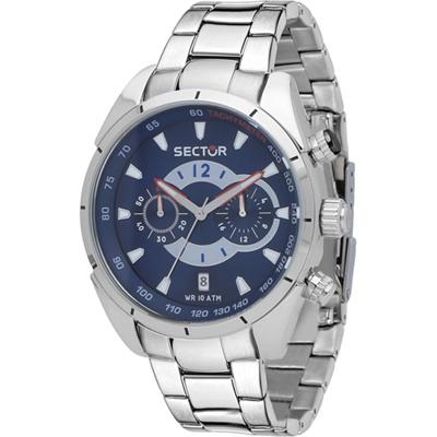 Sector 330 Chronograph Racing Horloge 45 mm