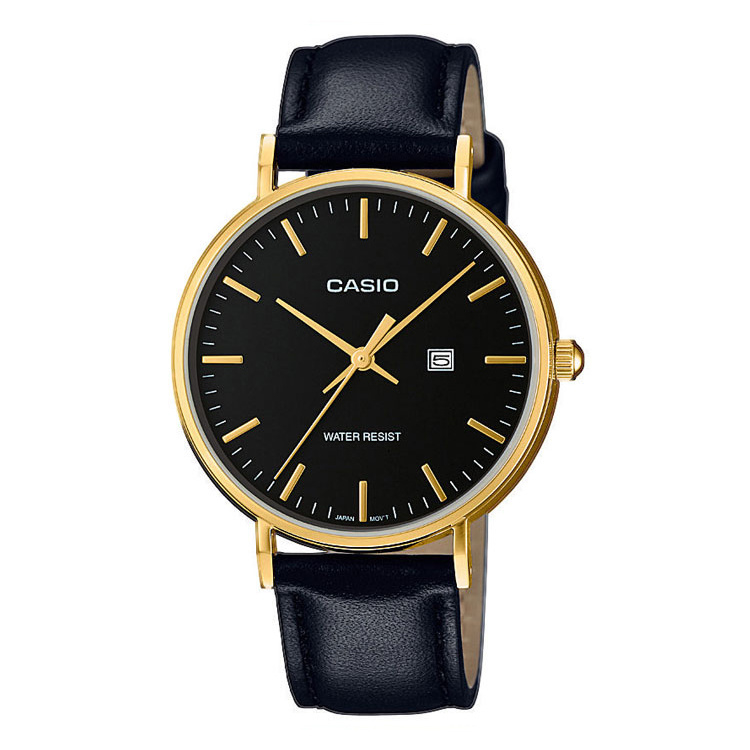 Casio Collection Dameshorloge Goud Staal 34mm