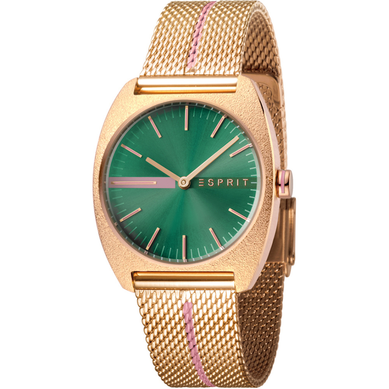 Esprit Spectrum Green Dames horloge 32 mm