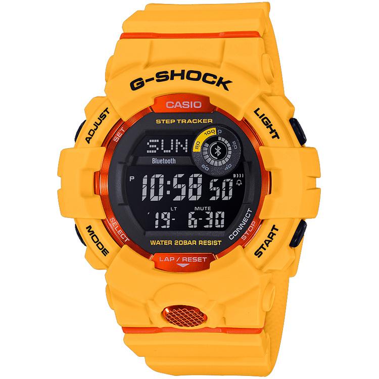 Casio G-Shock G-Squad Bluetooth® Horloge GBD-800-4ER 48mm