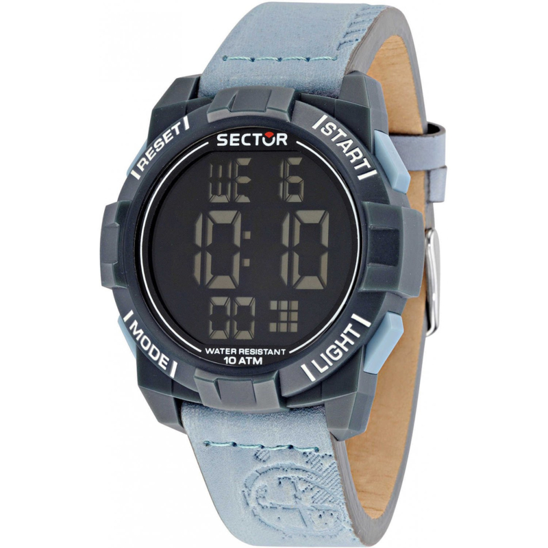 Sector Expander Street Fashion Digital Horloge 47 mm