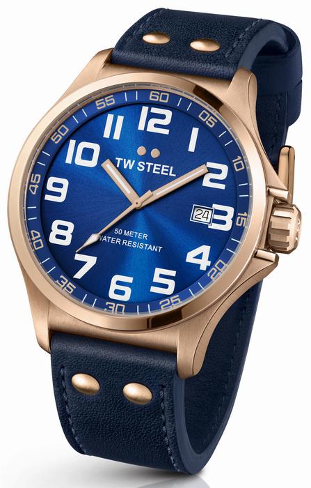 TW Steel TW405 Pilot Horloge 48mm