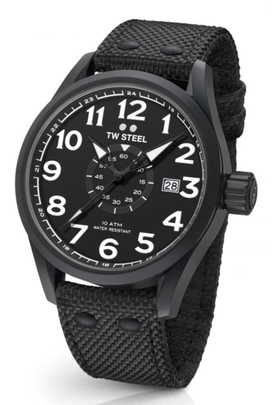TW Steel VS42 Volante horloge zwart 48mm