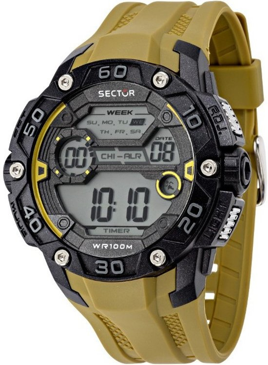 Sector Expander EX 07 Digital Horloge 48 mm