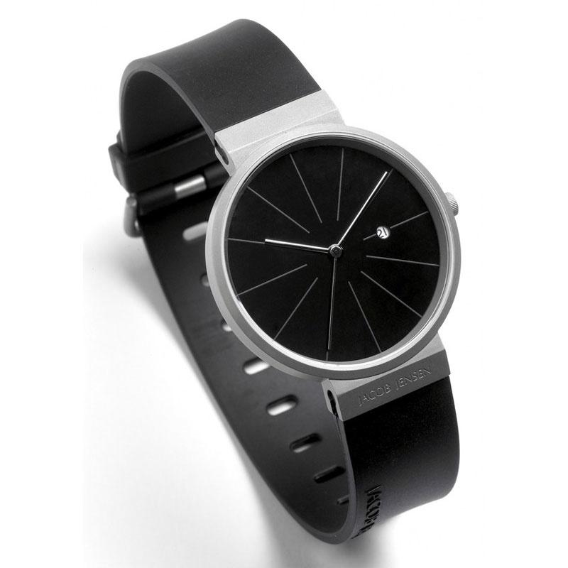 Jacob Jensen Titanium 680 Horloge 36 mm
