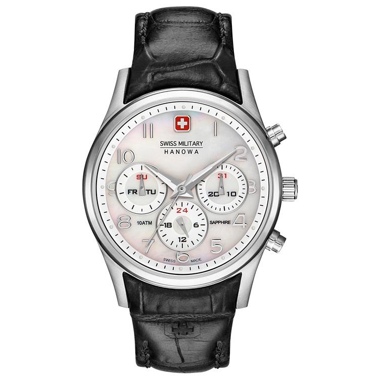 Swiss Military Hanowa Navalus Heren Horloge 44 mm