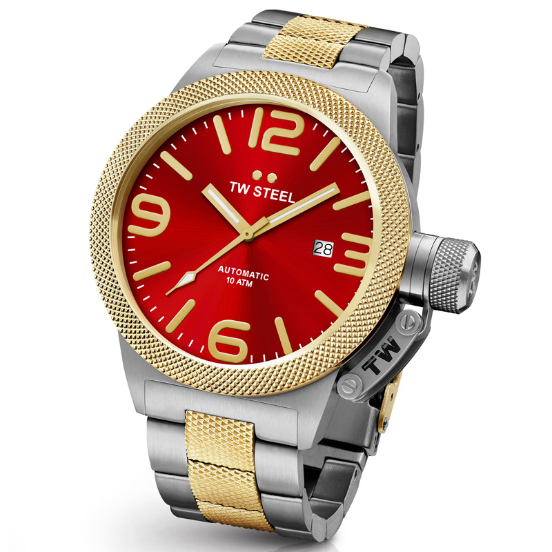 TW Steel CB75 Canteen Bracelet Automaat Horloge 45mm