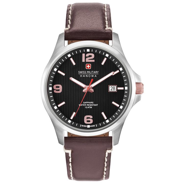 Swiss Military Hanowa Observer Heren Horloge 40 mm