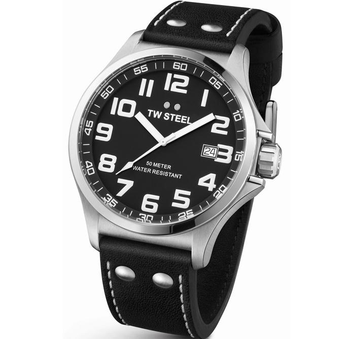 TW Steel TW409 Pilot Horloge 48mm