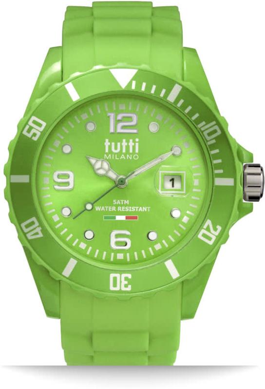 Tutti Milano Pigmento Horloge Lichtgroen 42,5mm