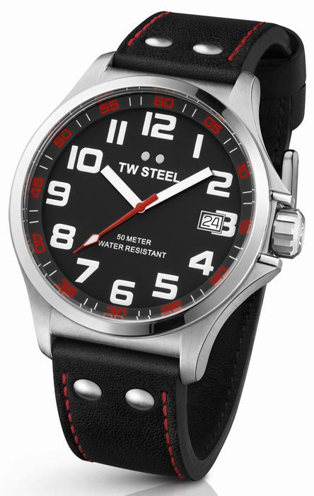 TW Steel TW410 Pilot Horloge 45mm