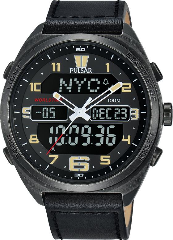 PULSAR PZ4045X1  Herenhorloge Chronograaf Digitaal 45mm