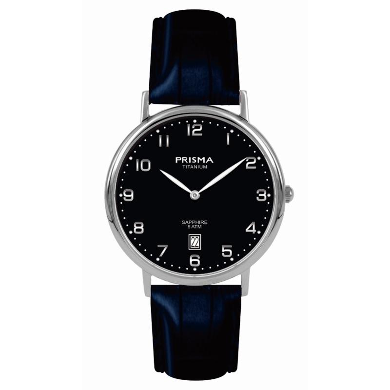 Prisma Classic Horloge Titanium 36mm