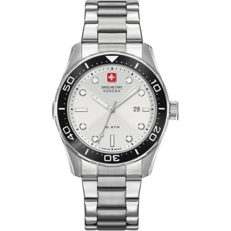 Swiss Military Hanowa Aqualiner Heren Horloge 10ATM 42 mm