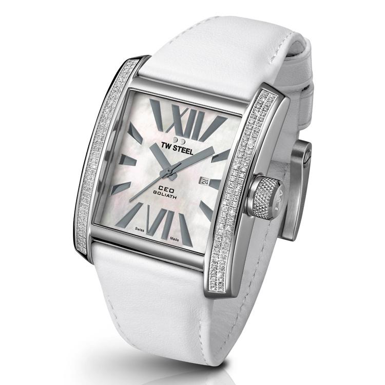 "TW Steel CE3015 CEO Goliath Diamonds Uhr 37mm ""DEMO"""
