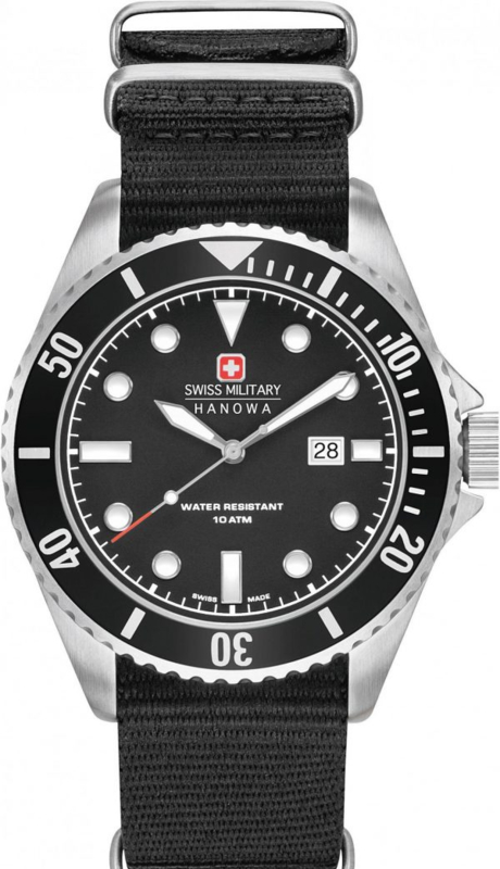 Swiss Military Hanowa Sea Lion Heren Horloge SET 44 mm