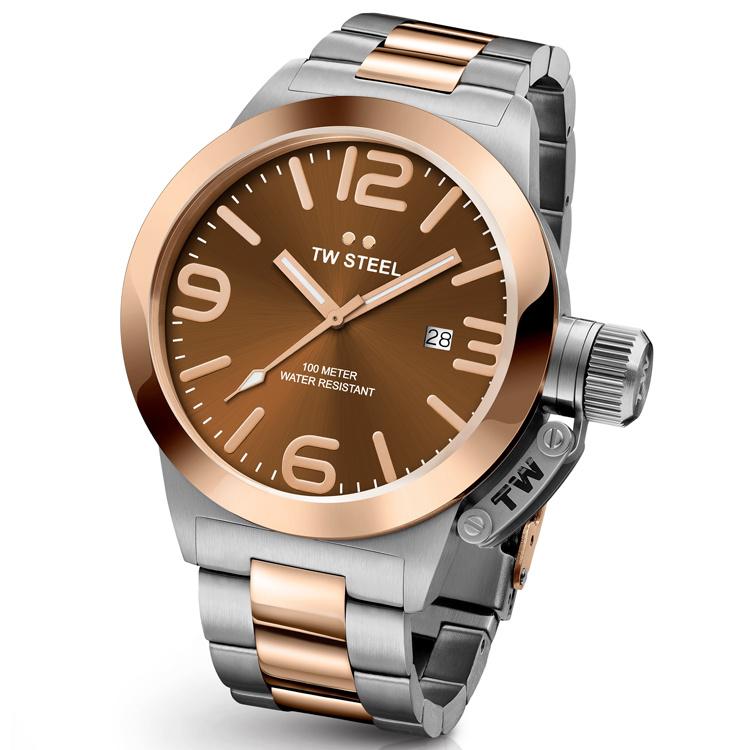 TW Steel CB151 Canteen Bracelet Horloge 45mm