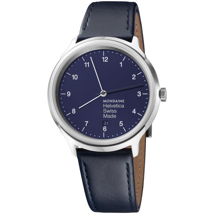 Mondaine Helvetica No.1 Regular Horloge 40 mm