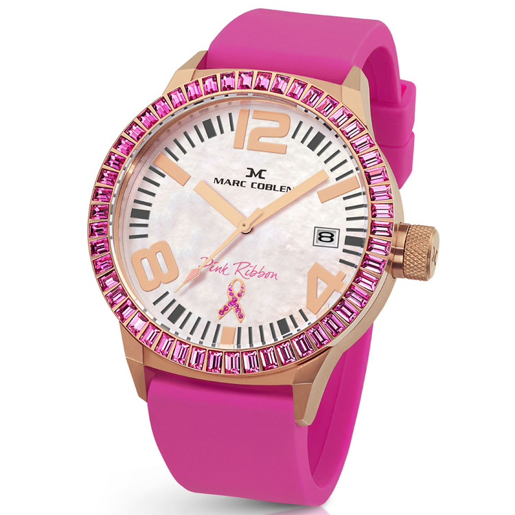 Marc Coblen MC45PR2 Pink Ribbon Horloge 45mm