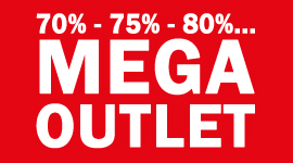 MEGA Horloge Outlet