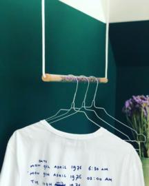 Transparant kledingrek