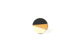 Ring zwart- goud