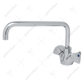 T&S I-Line deck mount double spindle faucet