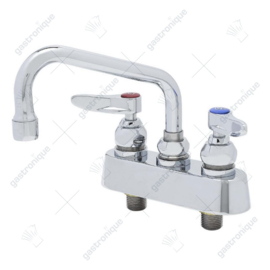 T&S Brass mix-faucet with recoil valves