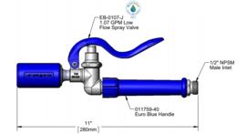T&S  spray valve water-saving