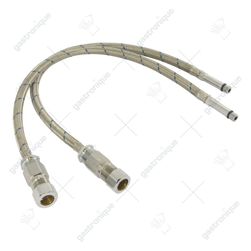 Flexible Connector Hoses for 15mm O.D. Copper Tubing w/ Check Valve