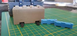 Betonblock Palletfork Insert