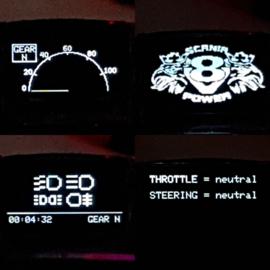 Oled Dashboard en Lightsysteem NANO