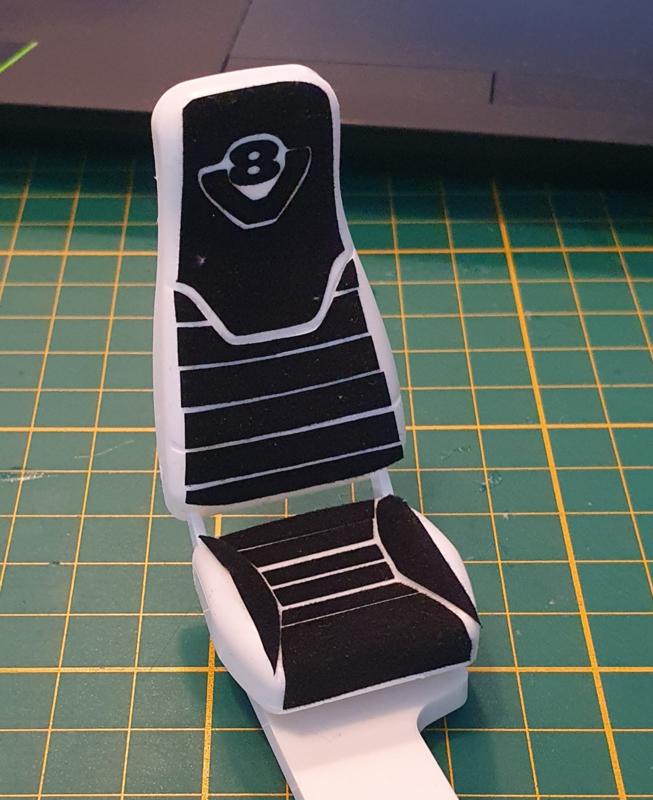 Sticker Chairs Scania