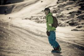Recreatieve skiër/boarder