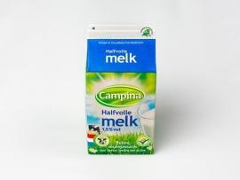 half volle melk 1/2