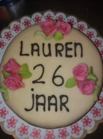 verjaardag taart 12 personen