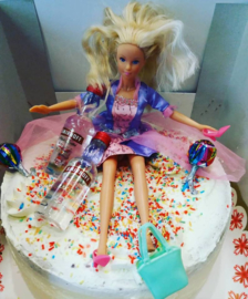 barbie taart 16+
