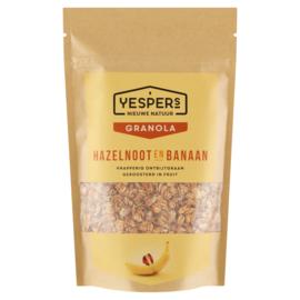Yespers Hazelnoot & Banaan 400 gram