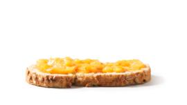 Smoothiespread: Mango en Ananas, 200 g per potje