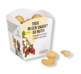 cashew/macadamia 1 portie a 70 gram