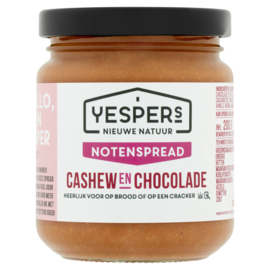 Yespers notenspread: Cashew & Chocolade 200 g
