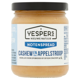 Yespers notenspread: Cashew & Appelstroop 200 g