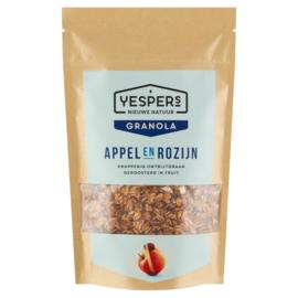 Yespers Granola Appel & Rozijn 400 gram