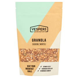 Yespers Granola Cashew & Wortel 400 gram